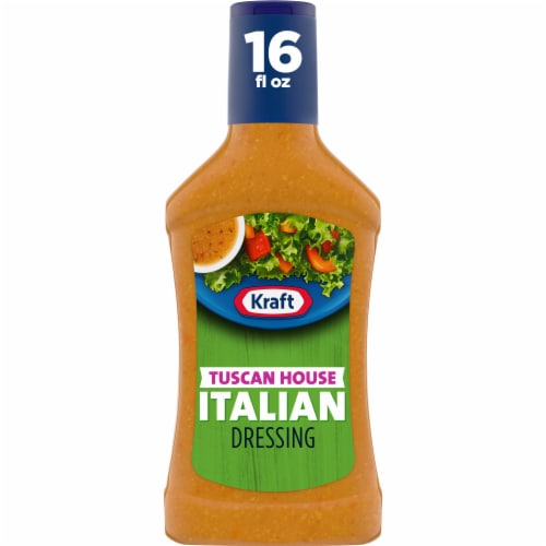Kraft Tuscan House Italian Dressing Perspective: front