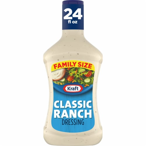 Kraft Classic Ranch Dressing Perspective: front