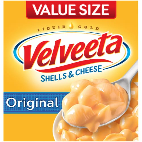 Velveeta Original Shells & Cheese Perspective: front