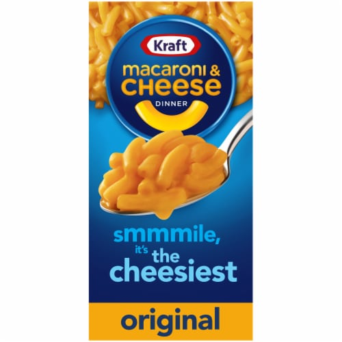Kraft Original Flavor Macaroni & Cheese Perspective: front