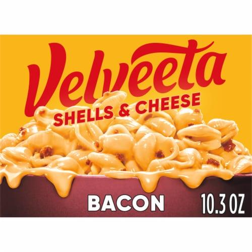 Velveeta Bacon Shells & Cheese Perspective: front