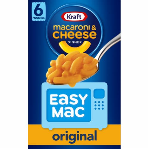 Kraft Easy Mac Original Macaroni & Cheese Dinner Perspective: front
