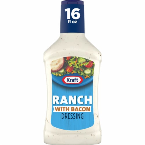 Kraft Ranch with Bacon Dressing Perspective: front