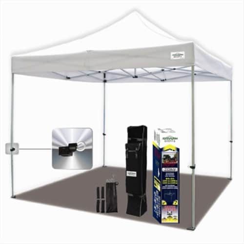 Caravan Canopy TitanShade 10 ft. x 10 ft. White Instant Canopy Perspective: front