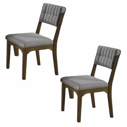 Coaster Home Furnishings Rayleene Tufted Back Side Dining Room Chairs (Set of 2) Perspective: front
