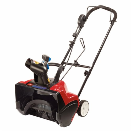 Toro 38381 18 in. 15 Amp Electric 1800 Power Curve Snow Blower Perspective: front