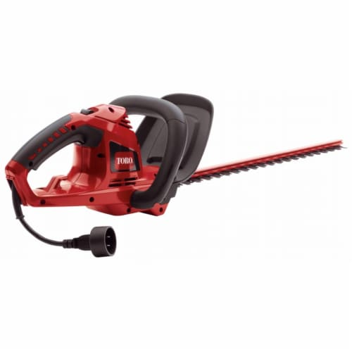 The Toro Company - Outdoor 51490 22 in. 4 Amp Electric Hedge Trimmer Perspective: front
