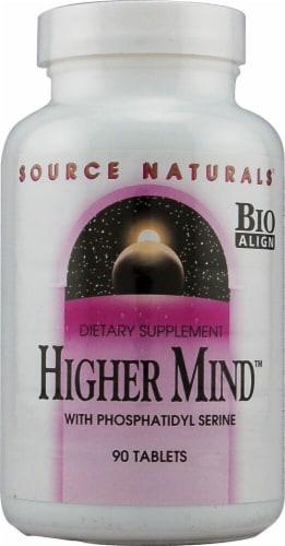 Source Naturals Higher Mind™ with Phosphatidylserine Tablets Perspective: front