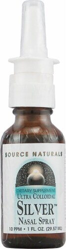 Source Naturals  Ultra Colloidal Silver™ Nasal Spray Perspective: front