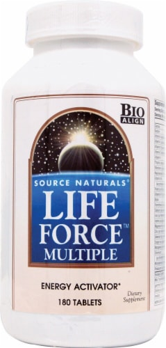 Source Naturals  Life Force™ Multiple with Iron Perspective: front