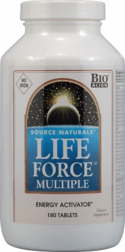 Source Naturals  Life Force™ Multiple No Iron Perspective: front