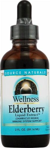 Source Naturals  Wellness Elderberry Liquid Extract™ Perspective: front