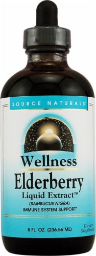 Source Naturals  Wellness Elderberry Liquid Extract™ Perspective: front