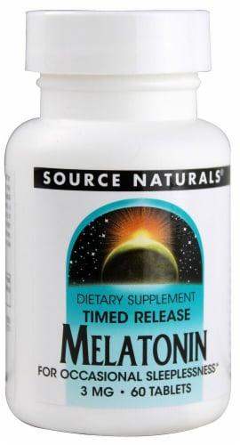 Source Naturals  Melatonin Timed Release Perspective: front