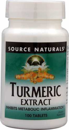 Source Naturals  Turmeric Extract Perspective: front