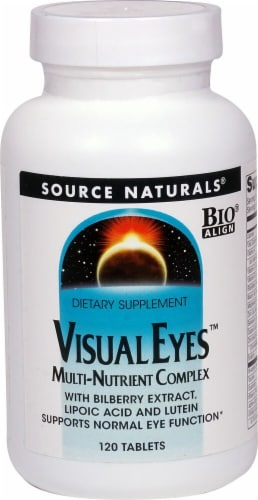 Source Naturals  Visual Eyes™ Multi-Nutrient Complex Perspective: front