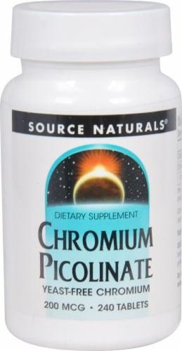 Source Naturals  Chromium Picolinate Perspective: front