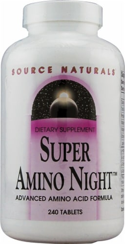 Source Naturals  Super Amino Night™ Perspective: front
