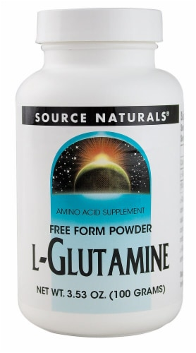 Source Naturals  Free Form L-Glutamine Powder Perspective: front