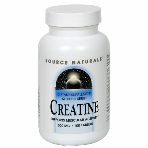 Source Naturals Creatine Perspective: front