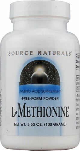 Source Naturals  Free Form L-Methionine Powder Perspective: front