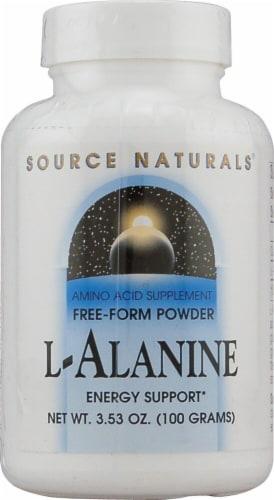Source Naturals  Free Form L-Alanine Powder Perspective: front