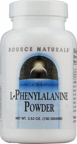 Source Naturals  L-Phenylalanine Powder Perspective: front