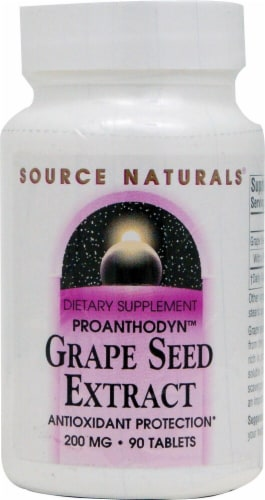Source Naturals  Grape Seed Extract Perspective: front