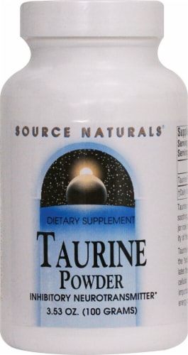 Source Naturals  Taurine Powder Perspective: front