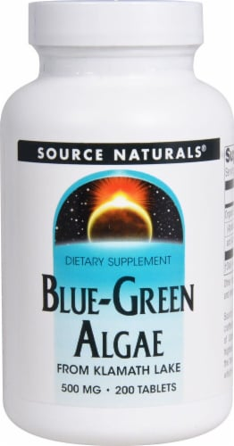 Source Naturals  Blue-Green Algae Perspective: front