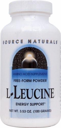 Source Naturals  Free-Form L-Leucine Perspective: front