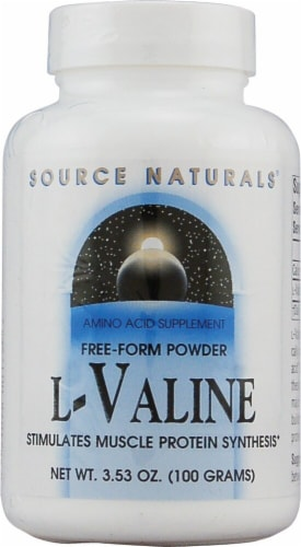 Source Naturals  Free Form L-Valine Powder Perspective: front
