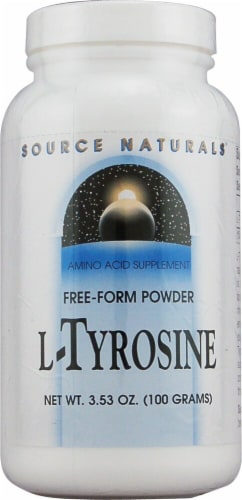 Source Naturals  Free-Form L-Tyrosine Powder Perspective: front