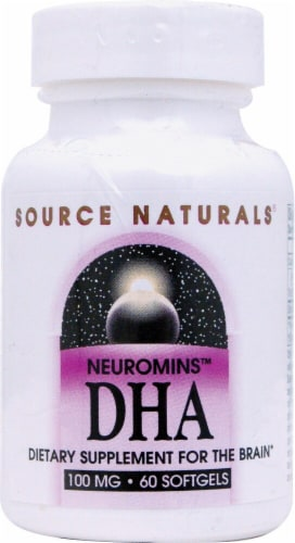 Source Naturals  DHA Neuromins® Perspective: front