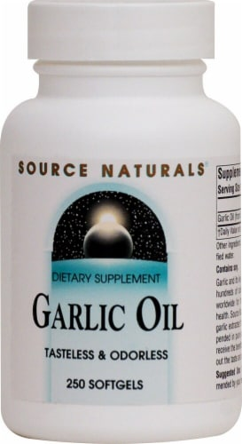 Source Naturals  Garlic Oil Perspective: front
