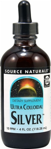 Source Naturals  Ultra Colloidal Silver™ Perspective: front