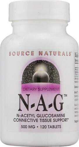 Source Naturals  N-A-G™ N-Acetyl Glucosamine Perspective: front