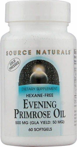Source Naturals  Evening Primrose Oil Hexane-Free Perspective: front