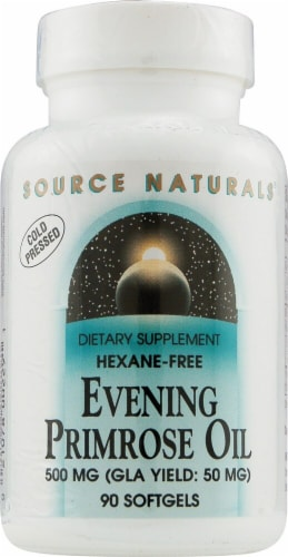 Source Naturals  Evening Primrose Oil Hexane Free Perspective: front