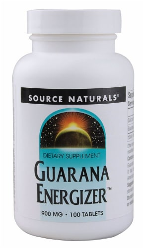 Source Naturals  Guarana Energizer™ Perspective: front