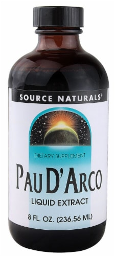 Source Naturals  Pau D'Arco Liquid Extract Perspective: front