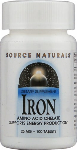 Source Naturals  Iron Perspective: front