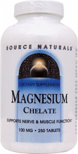 Source Naturals  Magnesium Chelate Perspective: front