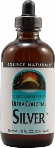 Source Naturals Ultra Colloidal Silver™ Dietary Supplement Perspective: front