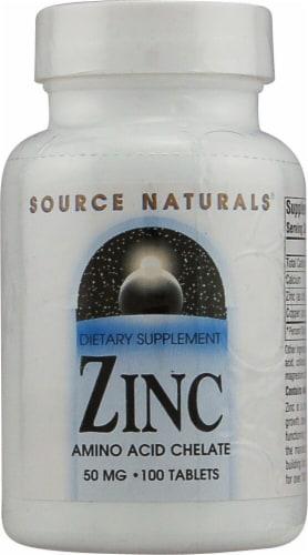 Source Naturals  Zinc Perspective: front
