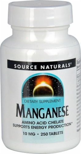 Source Naturals  Manganese Perspective: front