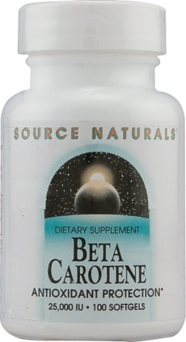 Source Naturals  Beta Carotene Perspective: front