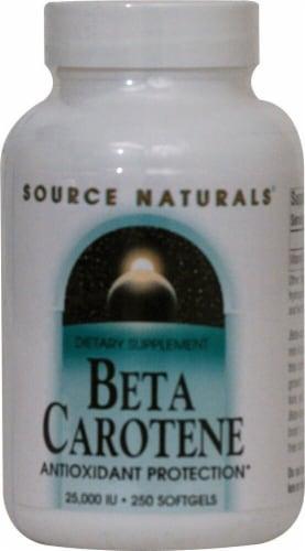 Source Naturals  Beta Carotene Perspective: front
