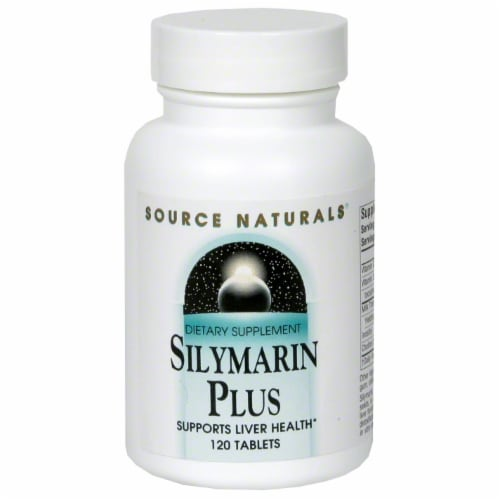 Source Naturals Silymarin Plus Liver Health Dietary Supplement Perspective: front