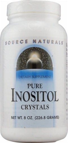 Source Naturals  Pure Inositol Crystals Perspective: front